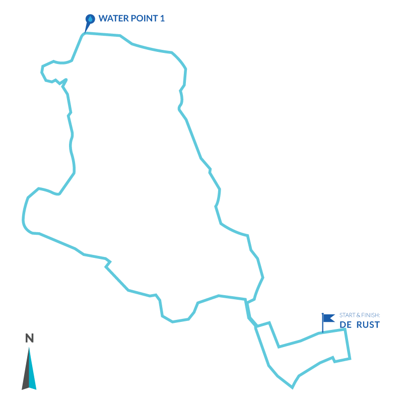 Trail Run Route 9.5km