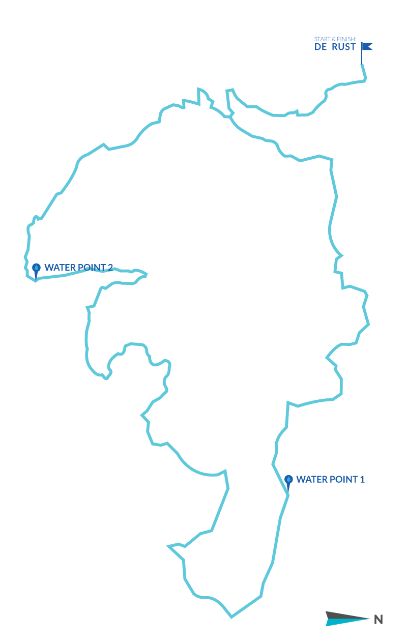Mountain Bike Route 60.5km